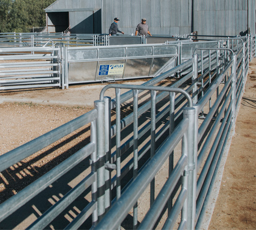Production of heavy duty stockyards